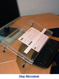 Microdesk Step Writing Slope 2009