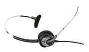 Wideband Monaural Headset with Voice Tube